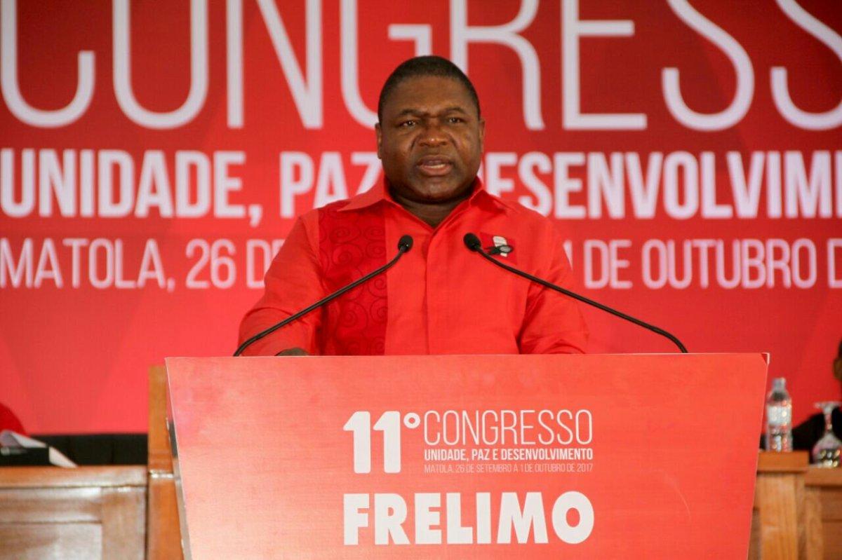 Discurso do Camarada Filipe Jacinto Nyusi, Presidente da FRELIMO, por ocasião da Abertura do XI Congresso